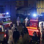 """12:11 Incendiul de la """"Matei Balş"""". O a cincea victimă, găsită carbonizată în baie"""