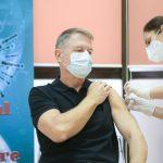 13:06 Preşedintele Iohannis: Vaccinul este sigur, eficient. Recomand tuturor vaccinarea