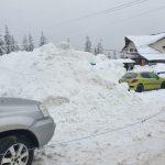 09:02 Munți de zăpadă, la Rânca. Pănescu: Este necesar să se intervină