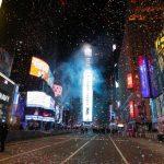 Revelion 2021. Pentru prima dată în 114 ani, în Times Square au fost doar 100 de oameni