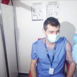 """Primele cadre medicale VACCINATE în Gorj. """"Doresc să-mi reiau viața"""""""