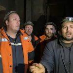 09:39 FNME, solidară cu minerii blocați în subteran la Lupeni