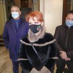 Lia Olguța Vasilescu, discuții la Târgu-Jiu despre firul II Isvarna – Craiova