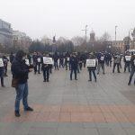 15:22 Proteste și la Craiova pentru reducerea vârstei de pensionare