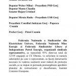 09:37 SCRISOARE DESCHISĂ către parlamentarii de Gorj, prefect și președintele CJ Gorj