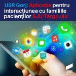15:11 Ce aplicație propune USR Gorj pentru Spitalul Județean