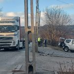 18:34 Târgu-Jiu: Accident pe centură. Unul dintre şoferi, rănit