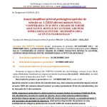 """Anunț simplificat privind prelungirea apelului de selecție nr. 1/2020 aferent măsurii M4/3A """"COOPERAREA IN SCOPUL CREARII DE FORME ASOCIATIVE, RETELE SI CLUSTERE, GRUPURI OPERATIONALE PENTRU DIVERSIFICAREA ACTIVITATILOR RURALE """""""