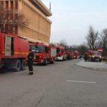 19:03 Incendiu la Politehnica Bucureşti