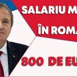 08:59 Weber vrea salariu minim de 800 de euro