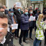Protest AUR la Ministerul Energiei. George Simion cere MIX energetic