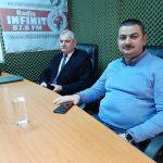 Interviurile Infinit FM din data de 9 martie 2021. Invitați: Primarii Ion Stamatoiu(PSD) și Mădălin Paliță(Pro România)