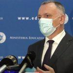 08:14 Sorin Cîmpeanu: Elevii vor putea merge la școală pentru ore remediale, până la pragul de 6 la mie