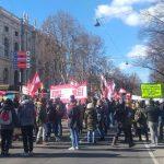 07:22 Protest la Viena împotriva restricţiilor