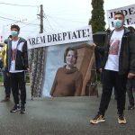 Protest la Novaci. Fiul femeii ucise de Mihai Dafinescu: Nu și-au cerut niciodată scuze