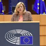 Europarlamentarul Corina Crețu ajunge în Gorj