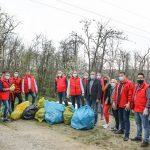 07:06 PSD Gorj, acţiune de ecologizare la Bumbeşti-Jiu