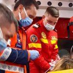 A născut o fetiță perfect sănătoasă în ambulanța SMURD