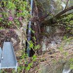 20:13 Stănești: Conducta de alimentare cu apă a Târgu-Jiului și un drum comunal, în pericol