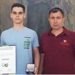 """Olimpicul Giovani Popescu și profesorul Eugen Nodea primesc titlul de """"Cetățean de Onoare al Municipiului Târgu-Jiu"""""""