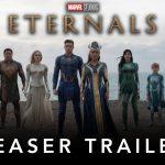 """Primul trailer pentru """"Eternals"""", cu Angelina Jolie şi Salma Hayek în distribuţie, lansat"""
