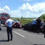 18:22 Accident la Lelești. Trei mașini implicate