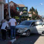 17:10 Accident în Târgu-Jiu. Patru persoane rănite