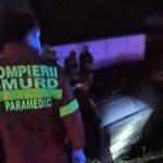 09:11 A intrat cu maşina într-un cap de pod. Tânăr de 20 de ani, rănit