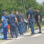 15:47 Băleşti: Accident cu 4 maşini. Două persoane, rănite