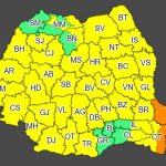 12:05 Cod galben de ploi în aproape toată ţara