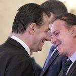 15:32 Cîţu: Am decis să mă înscriu în competiţia pentru preşedinţia PNL. Orban: Salut, Florin, intrarea în cursă! Va exista un gentlemen's agreement