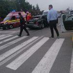 08:14 Accident pe Calea București