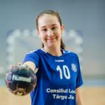 Handbalistă din Târgu-Jiu, convocată la Lotul Național de Cadete