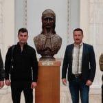 """09:19 Bunoaica și Tomescu, la București. """"Așteptăm să intrăm la Comisia de Muncă"""""""