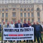09:24 Liderii minerilor, la București. Azi, vot în plen pe legea de reducere a vârstei de pensionare