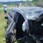 TRAGEDIE pe şosea la Polovragi. Bărbat din Vîlcea mort, copil de 4 ani luat cu elicopterul
