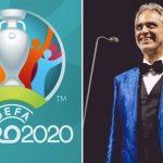 09:30 Andrea Bocelli cântă la ceremonia de deschidere a EURO 2020