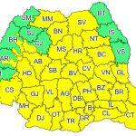 11:03 Cod galben de instabilitate atmosferică în aproape toată ţara