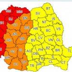 13:52 Cod PORTOCALIU de caniculă în Oltenia şi mai multe judeţe din ţară