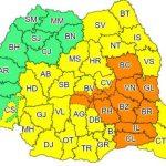 10:39 Noi avertizări Cod galben şi Cod portocaliu de ploi însemnate cantitativ şi instabilitate atmosferică