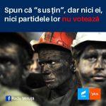 14:57 Miruță: AUR a fost vehement împotriva minerilor