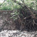 Alunecări de teren la Polovragi. 10 gospodării în pericol