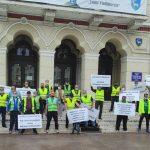 09:18 Începe cea de-a 18-a săptămână de proteste pentru reducerea vârstei de pensionare