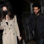 Angelina Jolie și The Weeknd au fost surprinși luând cina împreună