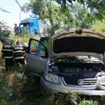 15:17 Un al doilea accident la Scoarţa. Trei persoane rănite