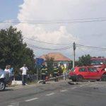 16:07 Şase răniţi într-un accident la Drăguţeşti