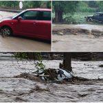 08:10 Case inundate, oameni refugiați în poduri și drumuri distruse în mai multe localități din Apuseni