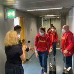 15:33 Ana Maria Popescu a refuzat să dea mâna cu ministrul Sportului