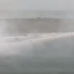07:17 Furtună pe litoral. Rafale de vânt care au ajuns şi la 80 de kilometri la oră