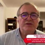 """Florin Călinescu, primele declarații despre demisie. """"Spiritul Pro nu mai există!"""""""